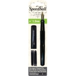 Speedball® Calligraphy Fountain Pen 1.9mm Nib: Black/Gray, Fountain, 1.9mm, Calligraphy, (model S2902), price per set