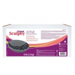 Sculpey® Original Oven Bake Gray Clay 8 lb.: Black/Gray, 8 lb, Oven Bake, (model S8G), price per each
