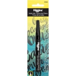 Higgins® Ink Pump Markers: Black/Gray, Refillable, 1mm, (model SN44201BMKRBC), price per each