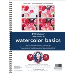 "Strathmore® 200 Series Learning Series Pad Learn Watercolor Basics: Book, 40 Pages, 9"" x 12"", (model ST25-151), price per each"