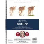 "Strathmore® 200 Series Learning Series Pad Learn to Draw Nature in Colored Pencil: Book, 9"" x 12"", (model ST25-753), price per pad"