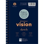 "Strathmore® Vision™ Sketch Pad 5.5"" x 8.5"" : Pad, 110 Sheets, 5.5"" x 8.5"", 50 lb, (model ST657-55), price per 110 Sheets pad"
