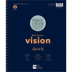 "Strathmore® Vision™ Sketch Pad 11"" x 14"" : Pad, 110 Sheets, 11"" x 14"", 50 lb, (model ST657-61), price per 110 Sheets pad"