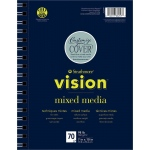 "Strathmore® Vision™ Mixed Media Pad 7"" x 10"": Pad, 70 Sheets, 7"" x 10"", 98 lb, (model ST662-57), price per 70 Sheets pad"