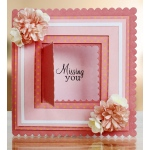 Essentials by Tattered Lace -Card Shapes Squares