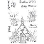 Essentials by Tattered Lace - The Magic of Christmas Church Die & Stamp Set