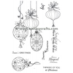 Essentials by Tattered Lace - The Magic of Christmas Baubles Die & Stamp Set