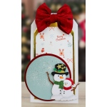 Essentials by Tattered Lace -Snowman Hugs