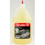 Dahle 20722 Shredder Oil, 4 - 1 Gallon Bottles