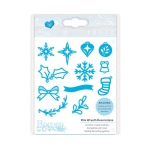 Tonic Studios Christmas Rococo - Mini Wreath Decorations Die Set - 1384E
