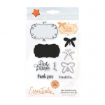 Tonic Studios - Whimsical Frame Die & Stamp Set, Best friends Forever - 1531E