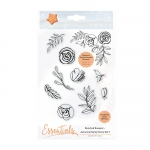 Tonic Studios - Bunched Bouquet Autumnal Sprig Stamp Set 1 - 1363e