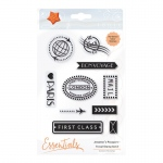 Tonic Studios Essentials - Jetsetters Passport Stamp Set 2 - 1641E