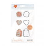 Tonic Studios Marmalade's World Stamp Set - Accessory Set 4 - 1352E