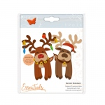 Tonic Studios Essentials - Christmas Buildables -  Rudolf Reindeer - 1752E