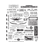 Stampers Anonymous - Tim Holtz - Correspondence Stamp Set