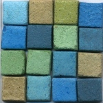 Blue Hills Studio™ Mini Mosaic Set - Blue Earth: Blue, Green, Stone (Cuttable), Tile