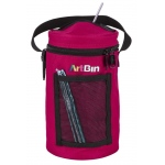 Artbin Mini Yarn Drum, Knitting And Crochet Tote Bag - Raspberry