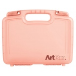 Artbin 12 Inch Quick View Carrying Case Deep Base   Coral