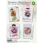 Card Kit - Fence Cards with Flower Bouquets