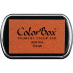 ColorBox® Full Size Ink Pad Orange: Orange, Pad, Pigment, Full Size Rectangle, (model CS15013), price per each