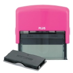Guard Your ID Large Stamp W/Refill - Pink
