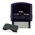 Guard Your ID Small Stamp W/Refill - Navy