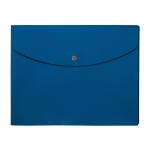 "10"" x 12"" Plastic Envelope - Blue"