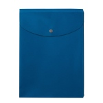 "12"" x 10"" Plastic Envelope - Blue"
