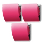 Extra Strong Magnet 3 Pack - Hot Pink