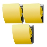 Extra Strong Magnet 3 Pack - Yellow
