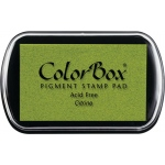 ColorBox® Full Size Ink Pad Citrine: Green, Pad, Pigment, Full Size Rectangle, (model CS15188), price per each