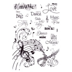 Joy! Crafts Clear Stamps - Dance to the Music