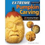 Fox Chapel Extreme Pumpkin Carving Book: Book, (model FC8060), price per each