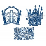 Tattered Lace Dies Art Deco - Halloween Bundle Die Set