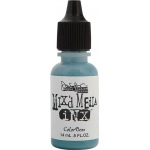 ColorBox® Mix'd Media Inx™ Patina Pigment Ink Refill: Blue, Bottle, Pigment, Refill