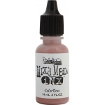 ColorBox® Mix'd Media Inx™ Peaches Pigment Ink Refill: Red/Pink, Bottle, Pigment, Refill
