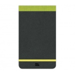 "Prat Paris Flexbook Notepads Size: 4"" x 6¾"" - Lime Green"