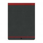 "Prat Paris Flexbook Notepads Size: 4"" x 6¾"" - Red"