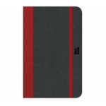 "Prat Paris Flexbook Notebooks Size: 3½"" x 5½"" - Red - Ruled"