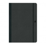 "Prat Paris Flexbook Notebooks Size: 5"" x 8¼"" - Black - Blank"
