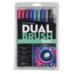 Tombow Dual Brush Pen Set Galaxy