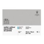"Winsor & Newton™ 4"" x 6"" Watercolor 140lb. Paper Postcard Pad : Pad, 4"" x 6"", Cold Press, Watercolor, 140 lb, (model 6663255), price per pad"
