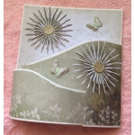 Chrysanthemum Bendy Card