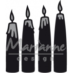 Marianne Design  Craftables Advent Candles