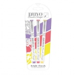 Nuvo Nuvo Brush Script Pens - Bright Florals - 111N