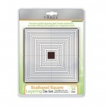 Tonic Studios Tonic Studios Scalloped Square Layering Die Set - 482E