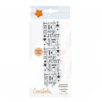 Tonic Studios Tonic Studios Sentimental Strip Stamp Set - Just a Note to Say - 1366E