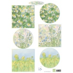 Marianne Design  Cutting Sheet Tiny's Flower Meadow 1