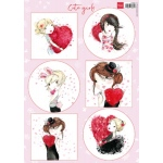 Marianne Design  Cutting Sheet Cute Girls